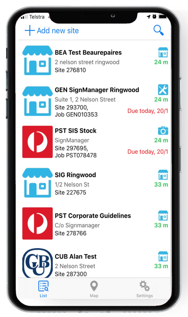 SignManager SignSpot App login