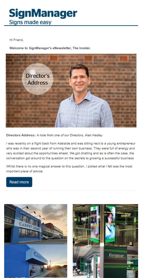 March 2018 SignManager Insider Newsletter